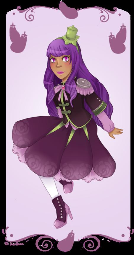Legume Lolita - 6 - Aubergine