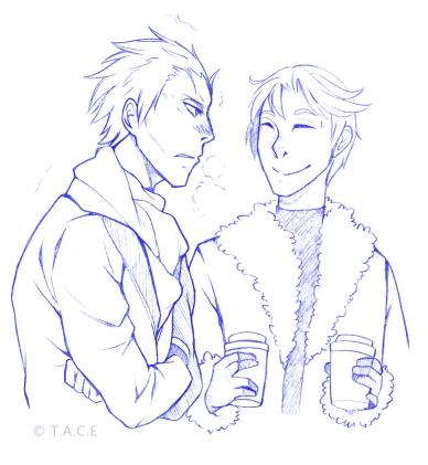 Will : ... t'es sûr que tu as pas froid ? Frank : NON